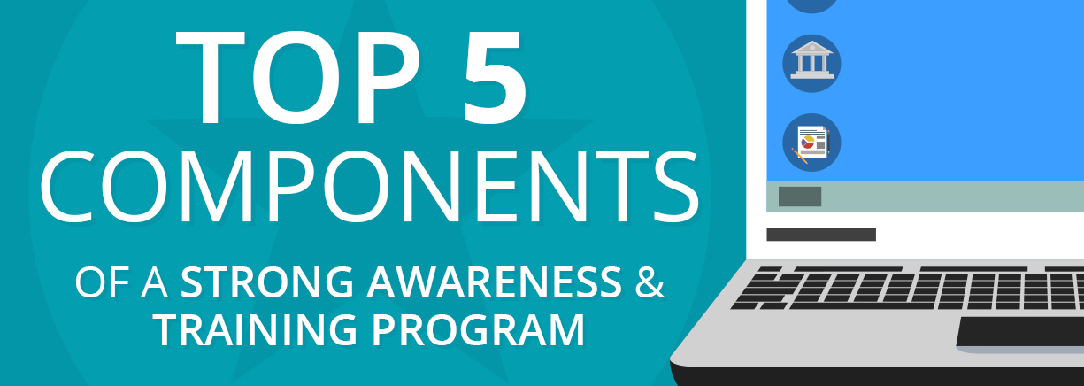 Top 5 Components of a Strong Information Security Awareness and Training Program