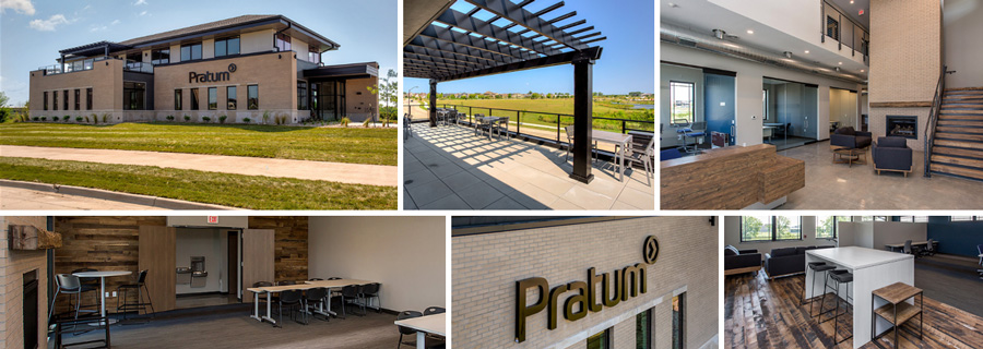 Pratum Building Interior and Exterior