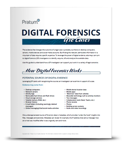 Digital Forensics Use Cases