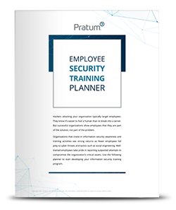 Employee Security Training Planner