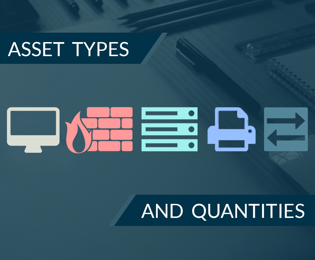 Asset Types and Quantities for Vulnerability Scan